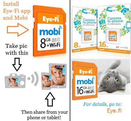 Eye-Fi Mobi memory card