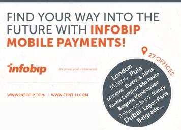 Infobip Centili payments solution