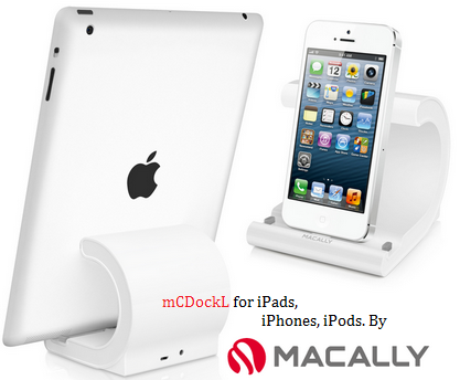 mCDockL-ipad-iphone-ipod-macally