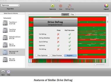 defrag mac boot volume safe or notsafe