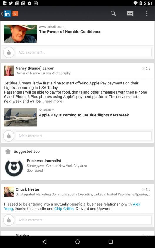 Android app LinkedIn